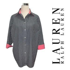LAUREN Ralph Lauren Gingham Button Down